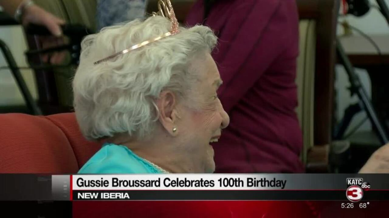 Gussie Broussard turns 100.jpg