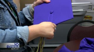 Local graduating seniors can't afford to pay for their cap and gown