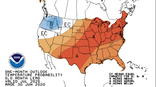 NOAA July forecast