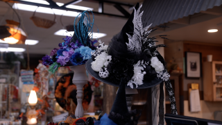Sharla Horton's handcrafted hats