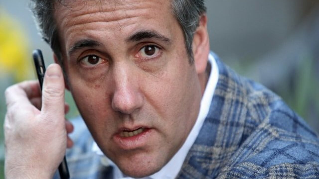 Michael Cohen no longer refers to himself as Trump's attorney on Twitter