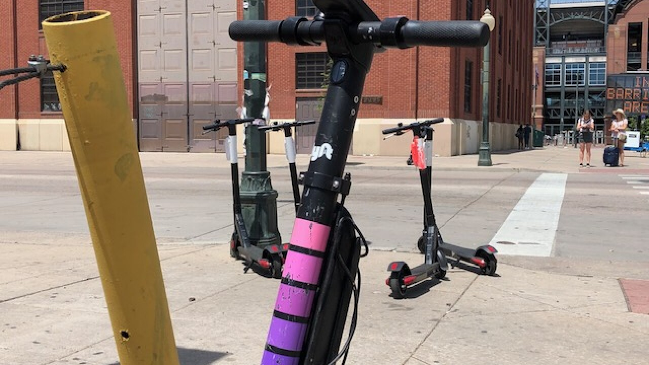 Denver police report first-ever electric scooter-related death in city