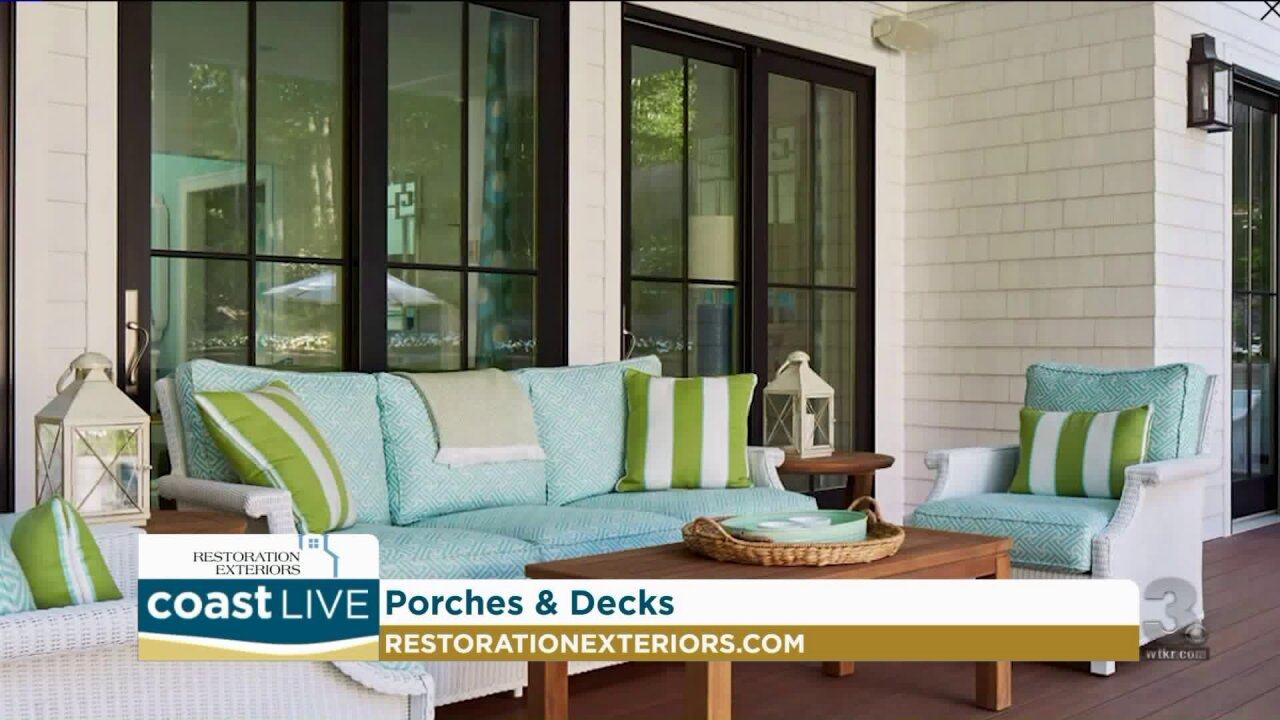 New materials for updating your porch or deck on CoastLive