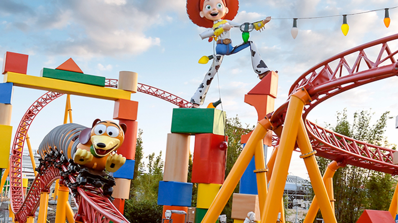 Fun facts about the all-new 'Toy Story Land'