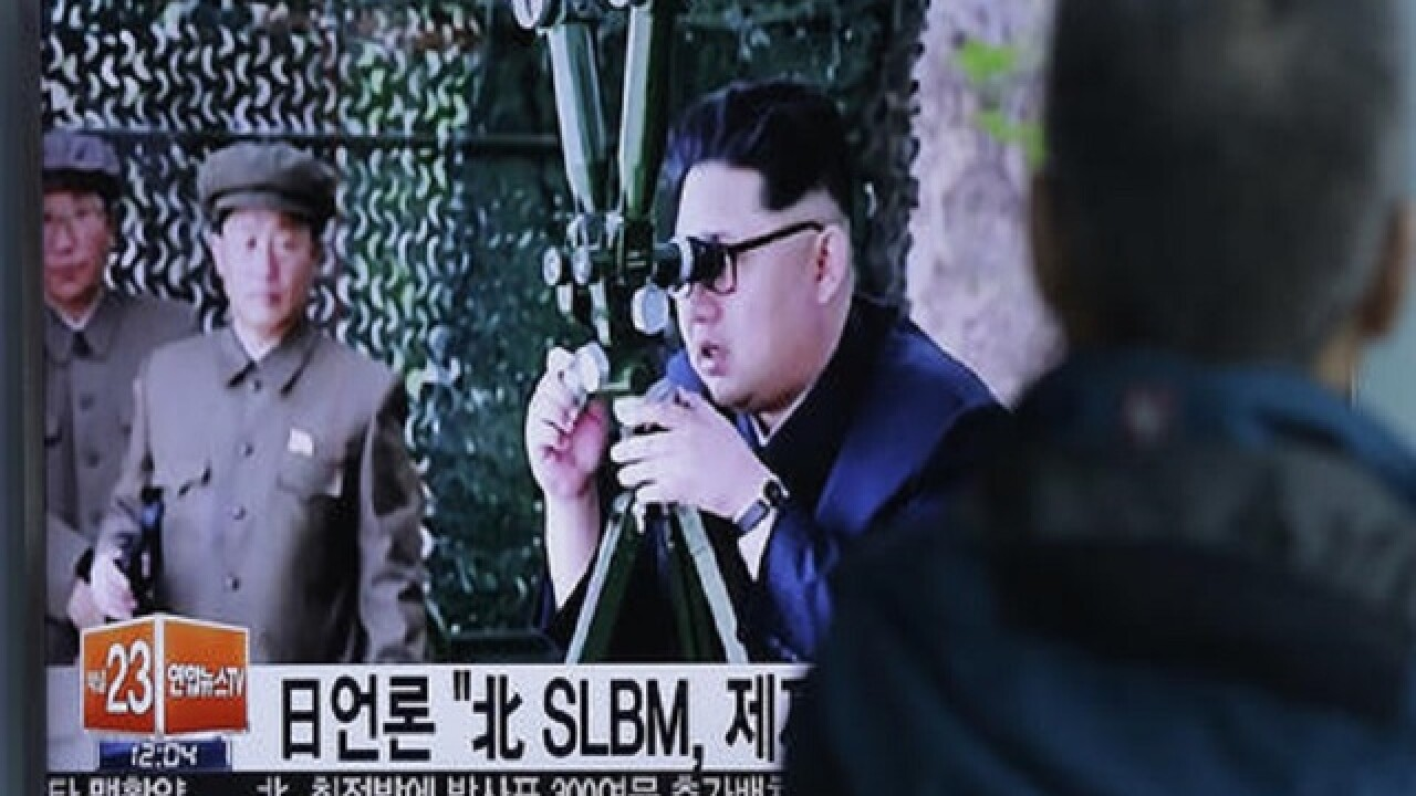 North Korean missile launch ends in failure