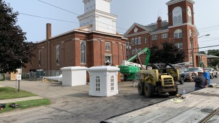 Fredonia church getting new steeple following 2018 fire