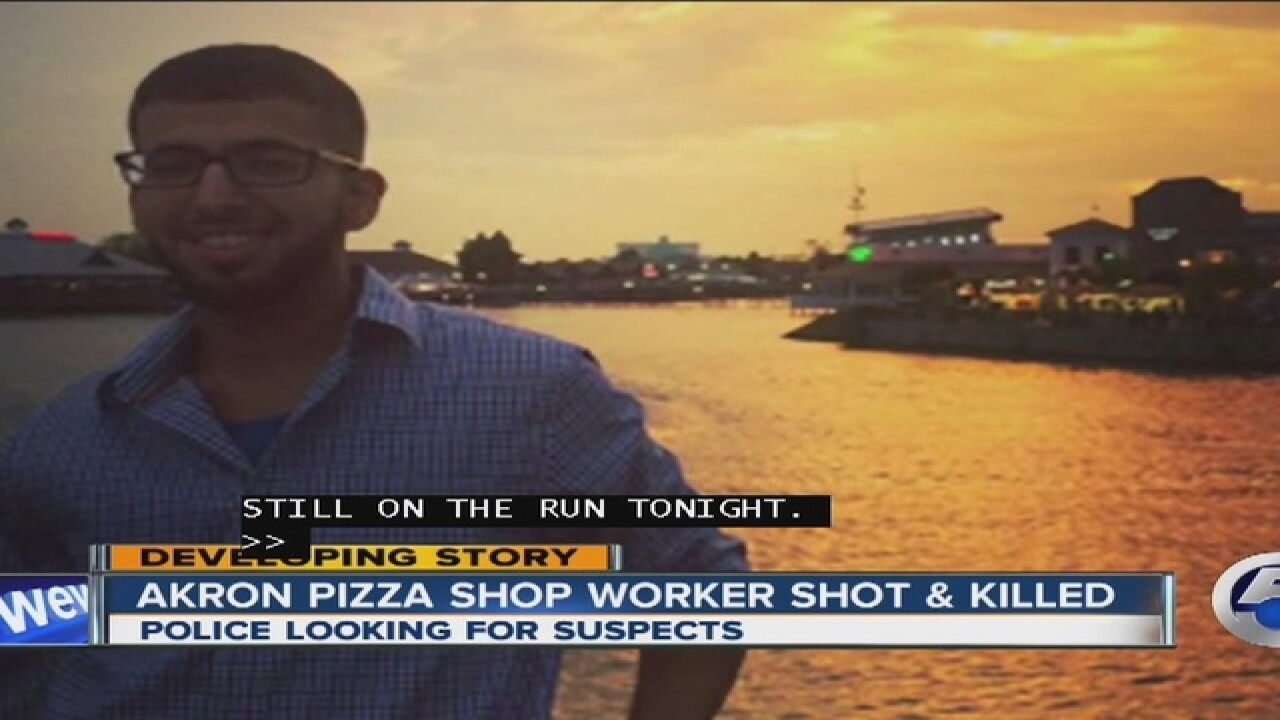 Witness to Akron pizza shop murder speaks out