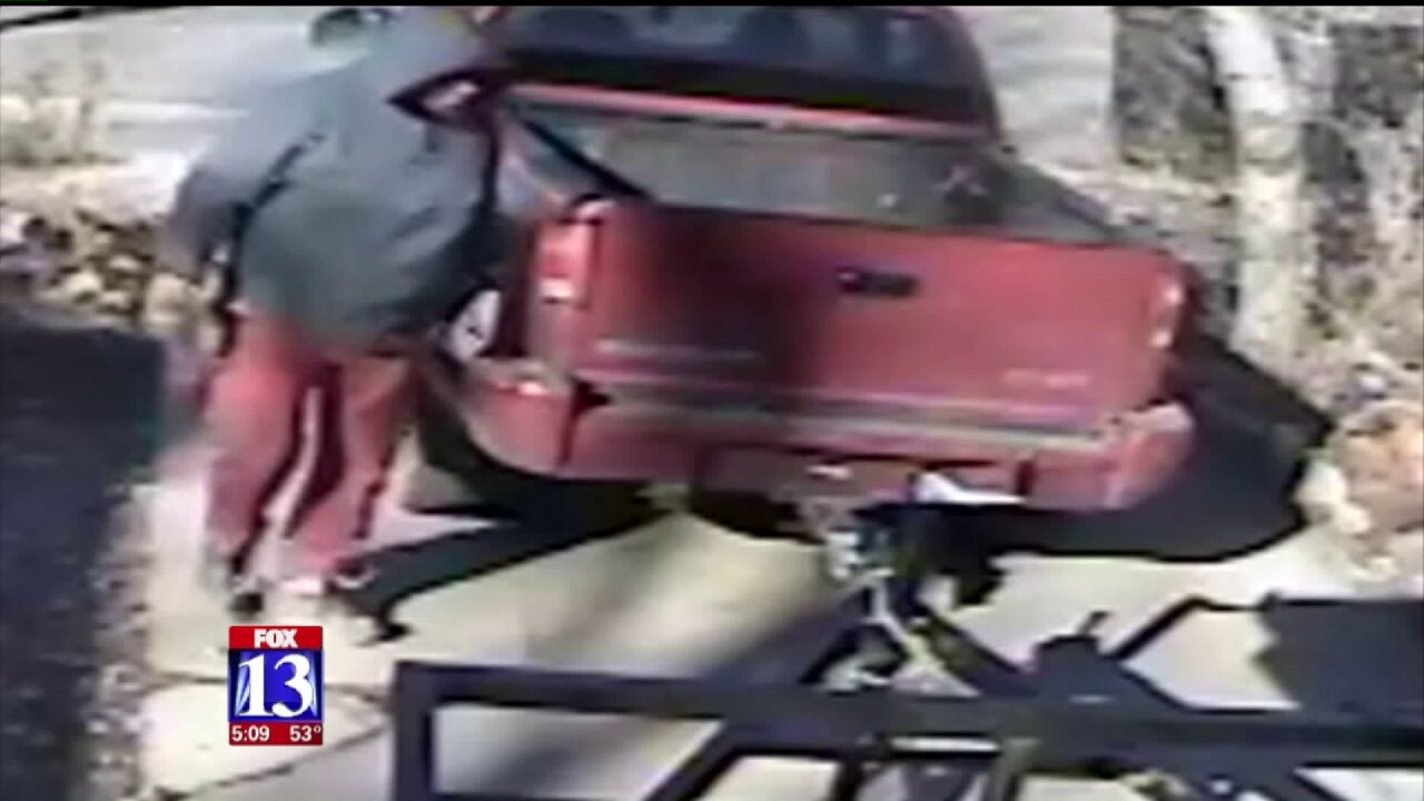 Victim offers reward after trailer stolen from Murray driveway in broad daylight