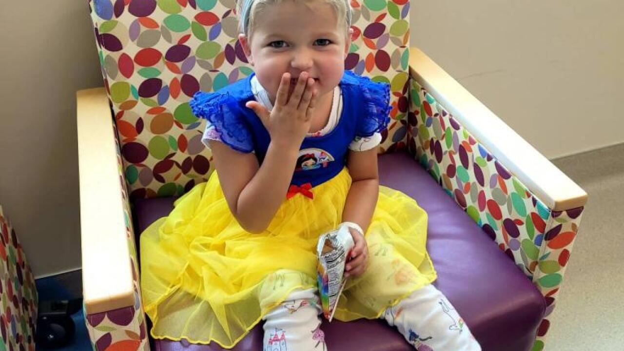 Bexley's Blessings: little girl still receiving community support 1 year after cancer diagnosis