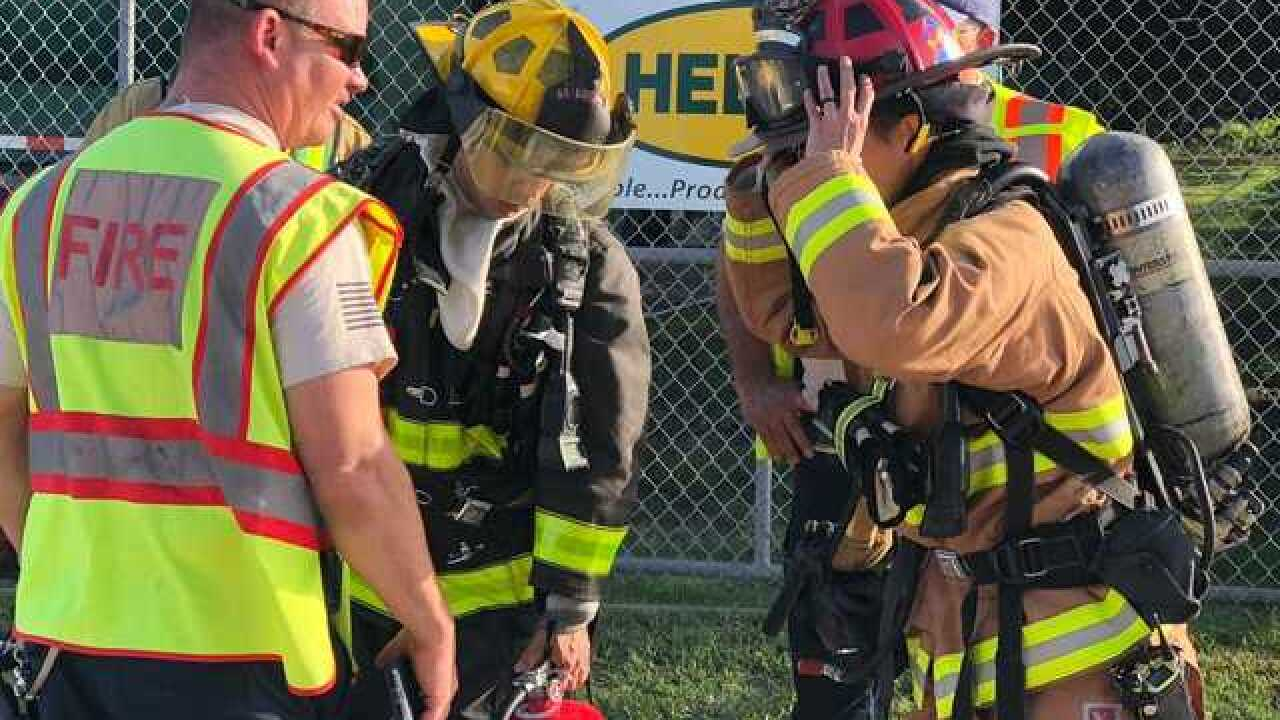 Sulfur fire in Fort Pierce forces evacuation