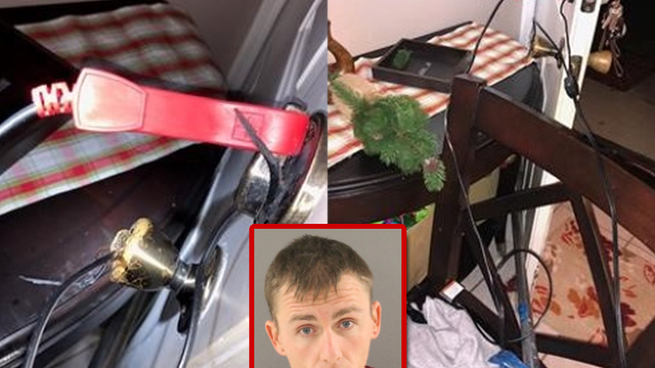 Fla. man rigged door to electrocute wife
