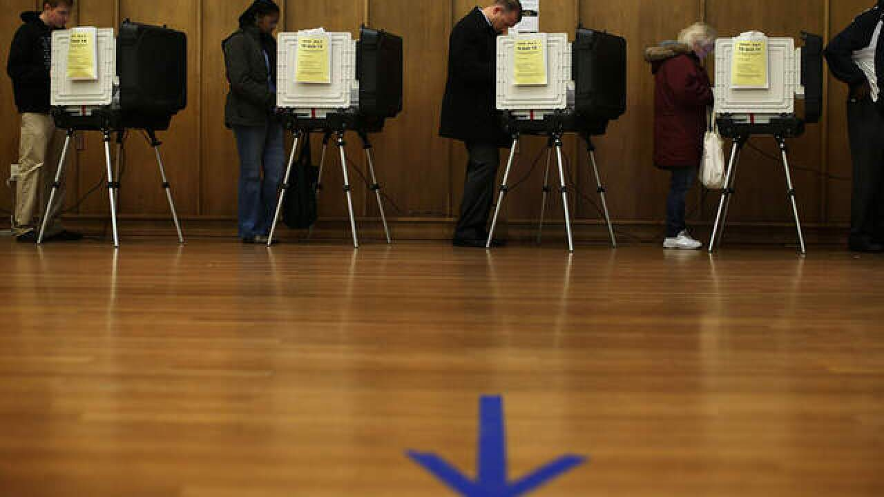 Today is last day to register for Nov. election