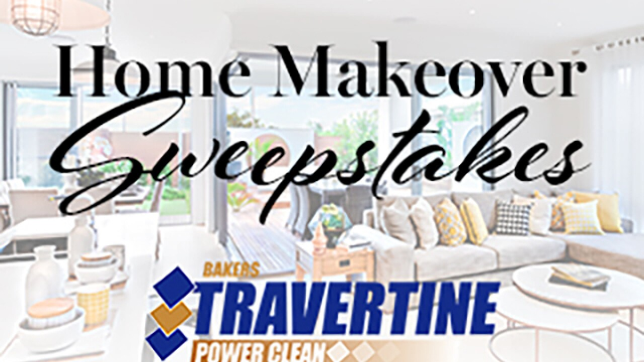 Rules Baker S Travertine Power Clean Spring Home Makeover Sweepstakes