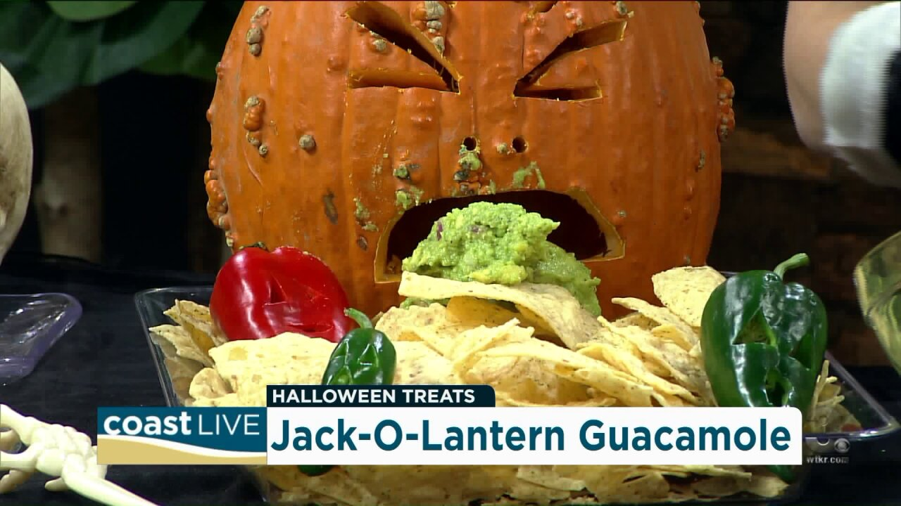 Making haunting Halloween treats with Chef Jaqui on Ghost Live