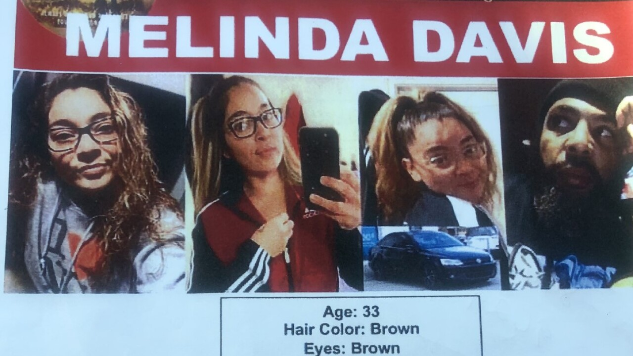Marshals joint the hunt for missing Melinda Davis