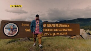 Salish and Blackfeet Montana rapper joins a youth challenge made to inform about COVID-19
