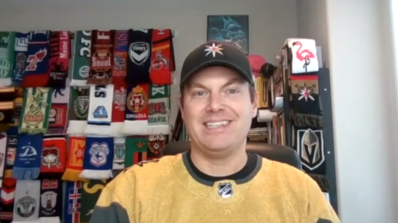 Original victory flamingo thrower reflects on unique VGK tradition