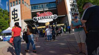 Salt Lake Bees Smith's Ballpark
