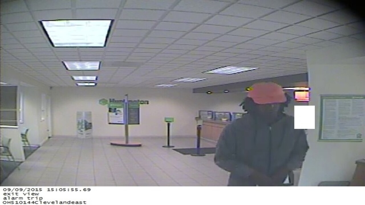 FBI: Man wanted for robbing CLE Bank