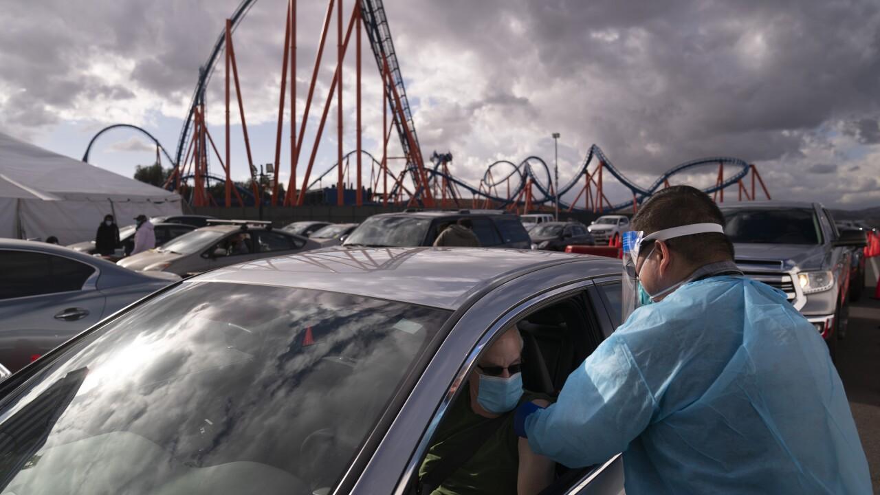 Six Flags Magic Mountain COVID Protocols