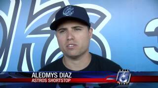 Aledmys Diaz makes rehab starts for Hooks
