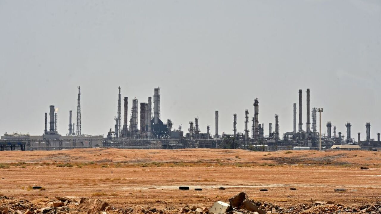 Oil prices spike after Saudi attack disrupts globalsupply