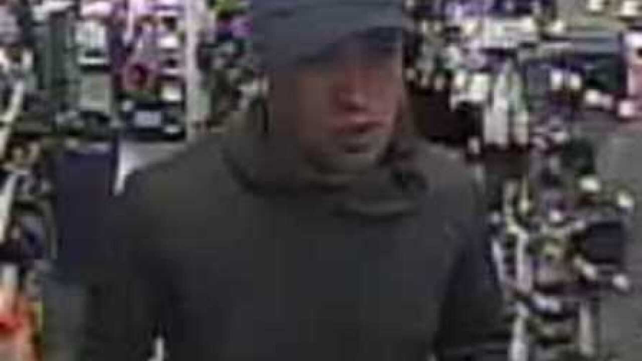 Armed suspect on the loose after robbery