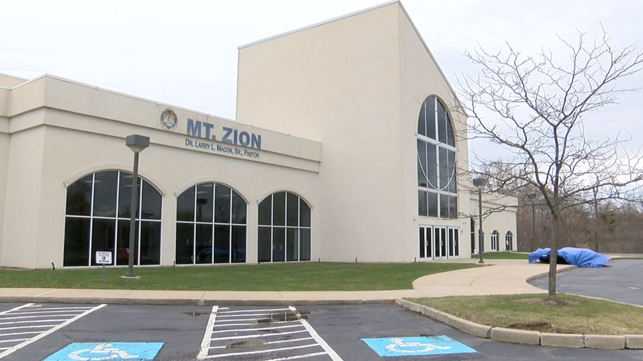 Mt. Zion Church holds drive-in service due to COVID-19 concerns