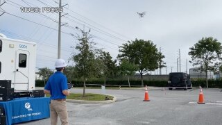 Drone instruction class for Palm Beach County students
