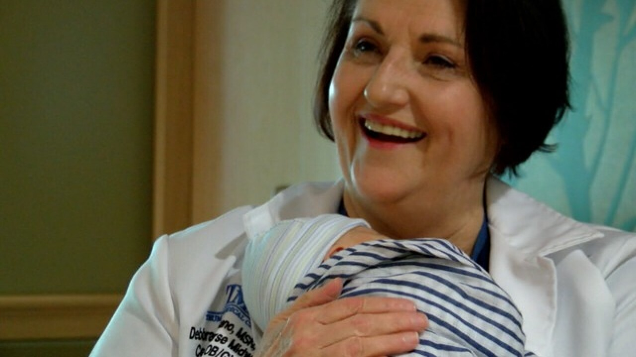 Growing number of moms-to-be choosing midwives