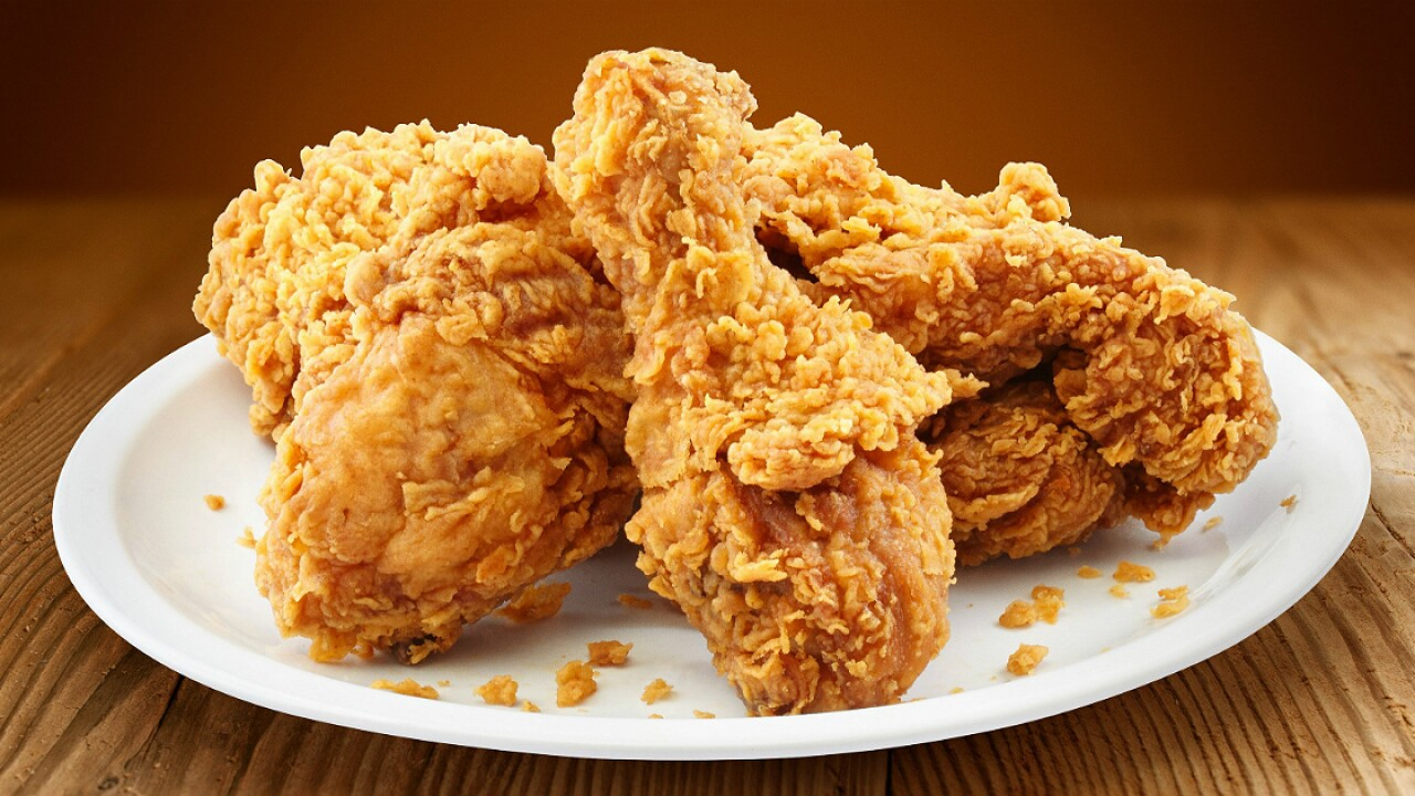 One serving of fried chicken a day linked to 13 percent higher risk of death, study finds