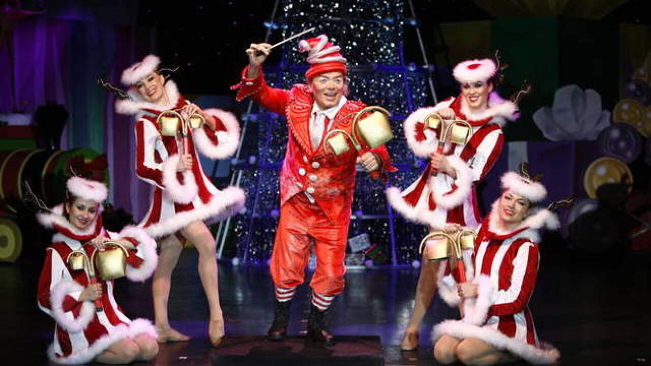 'Cirque Dreams Holidaze' comes to Wharton Center