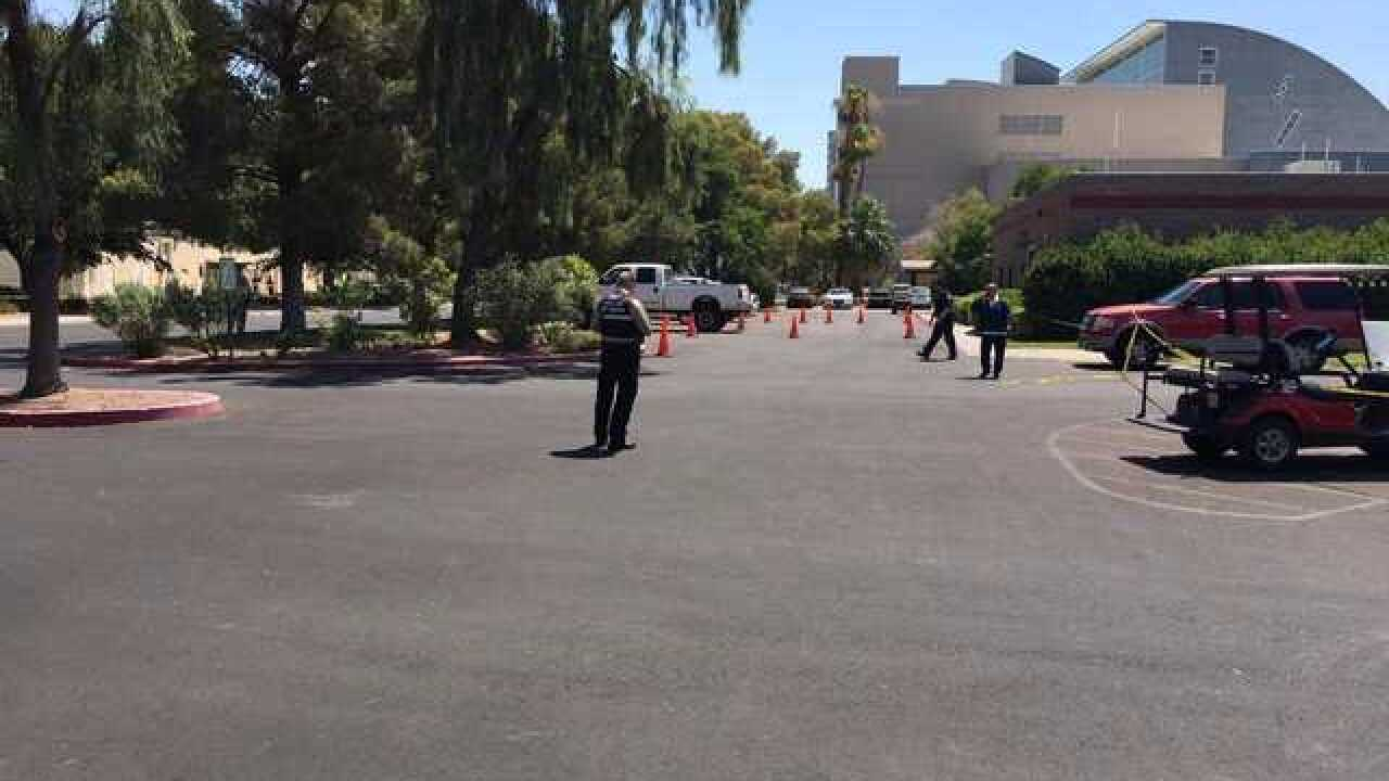 New details on shots fired at UNLV campus