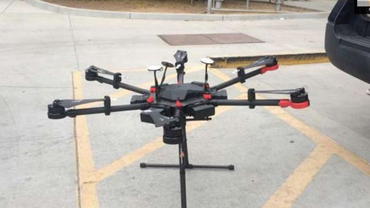 Man who used drone to smuggle drugs sentenced