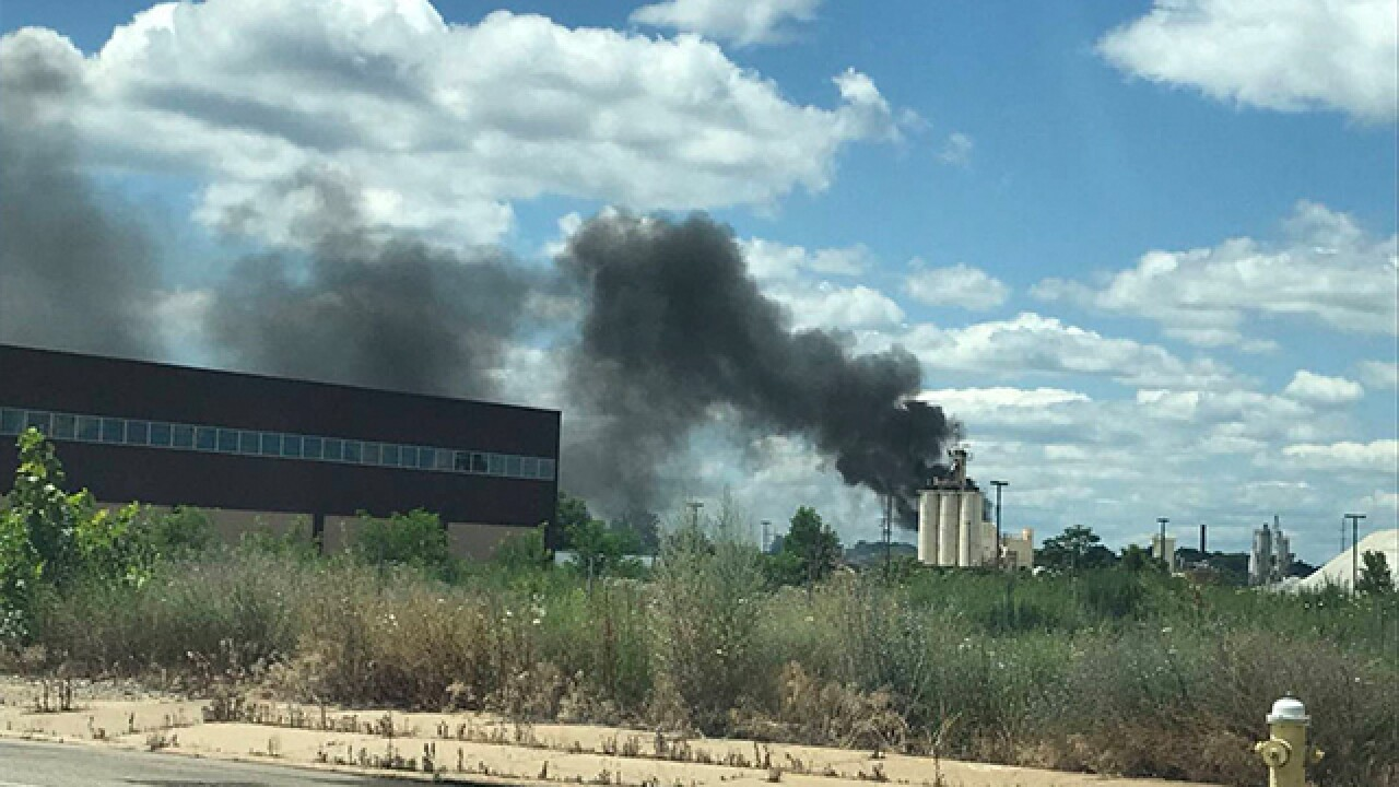 Fire crews responding to explosion in Akron