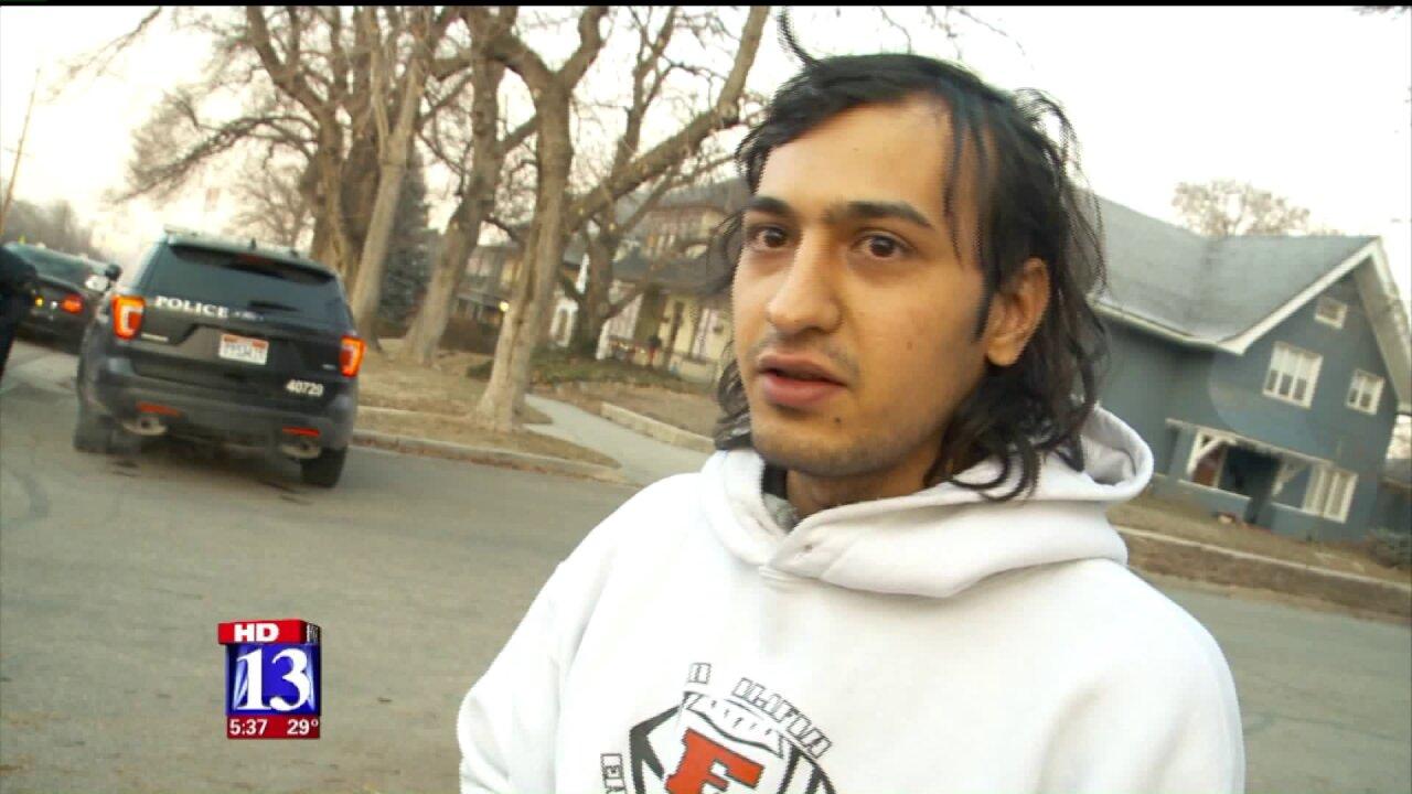 Armed man on run after carjacking Salt Lake man atgunpoint