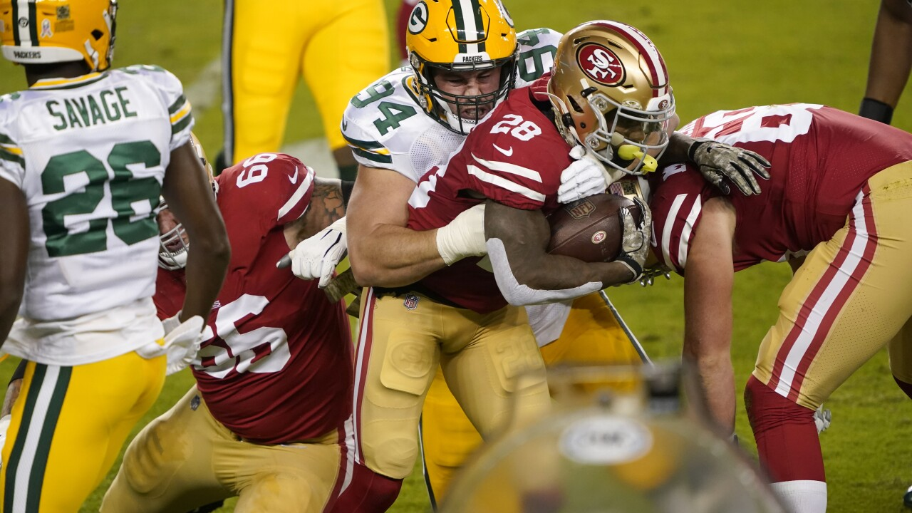 Report: Green Bay Packers player tests positive for COVID-19 after playing in 49ers game