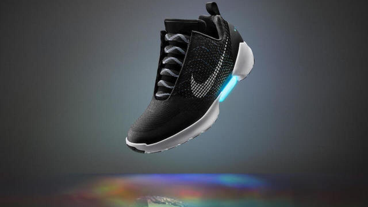 Nike puts jaw-dropping price on new self-lacing HyperAdapt shoes