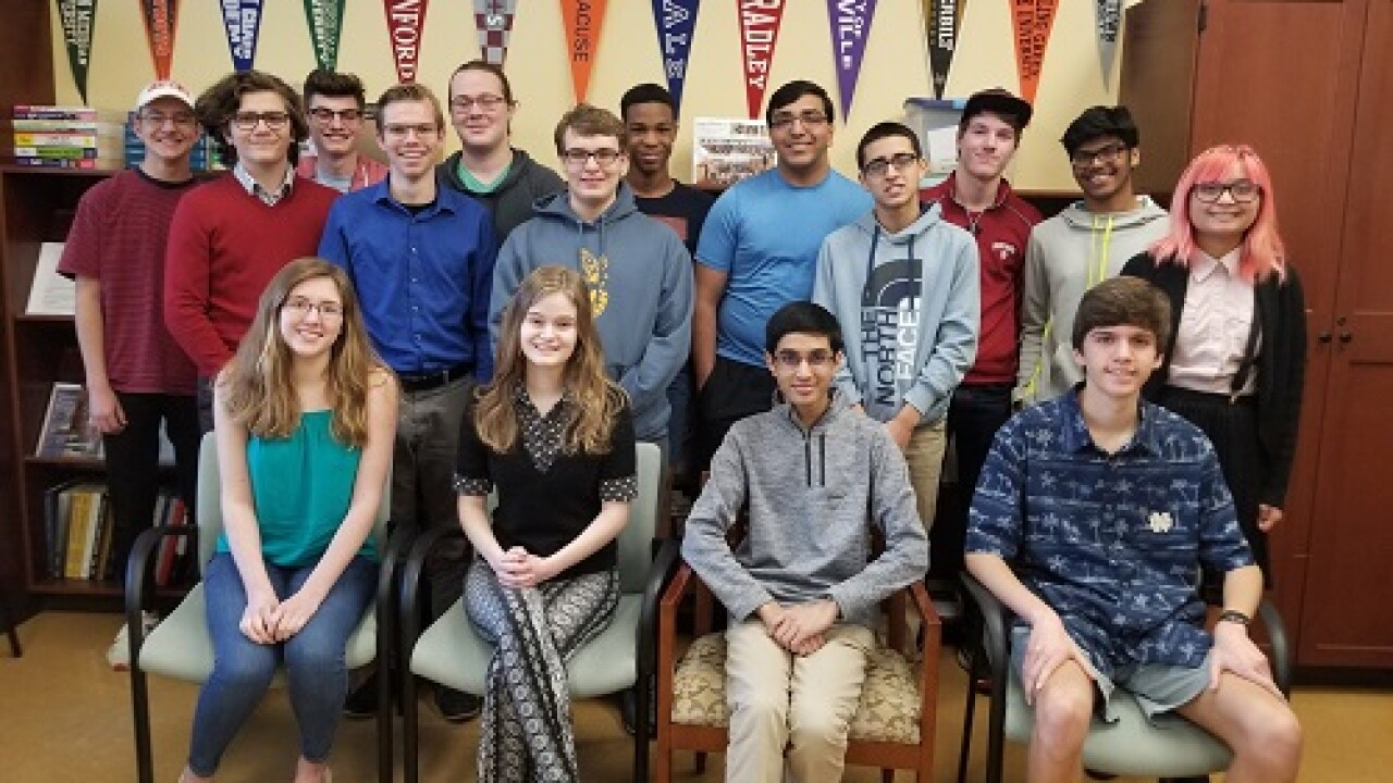 17 students from a single high school in Ohio achieved perfect ACT scores