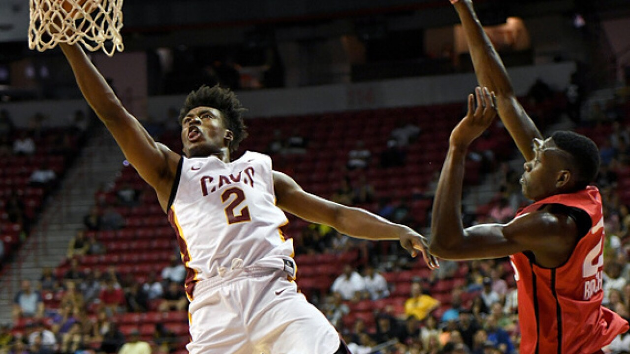 Collin Sexton had it going on during last night's summer-league semifinals against the Lakers