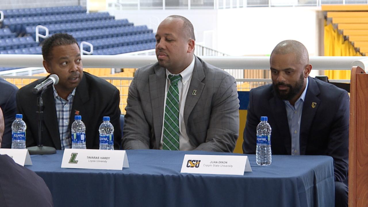Baltimore Basketball Media Day