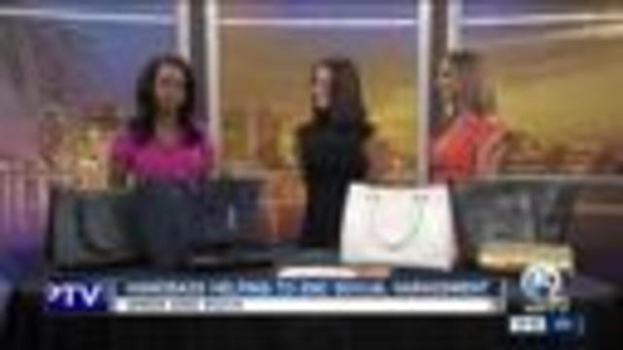 Handbags helping end sexual harassment
