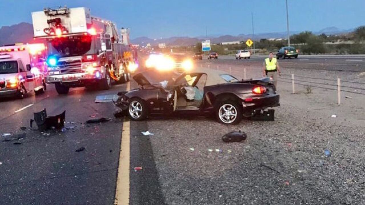 DPS: Deadly crash shuts down US-60 at Ironwood
