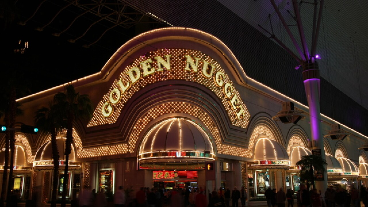 Tourist stabbed by stranger while playing slots at Golden Nugget in Las Vegas
