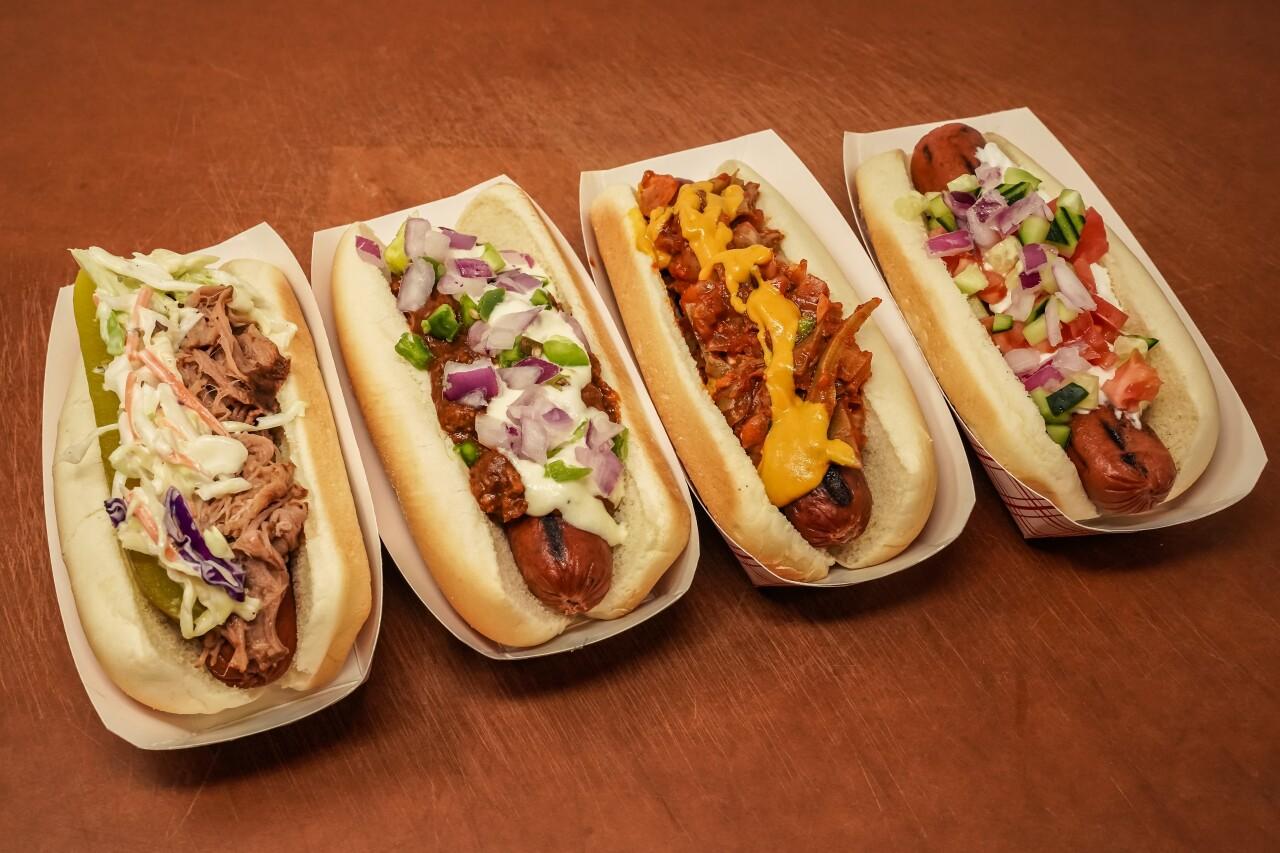 Surprise Stadium 2020 Spring Training Food - Hot Dogs