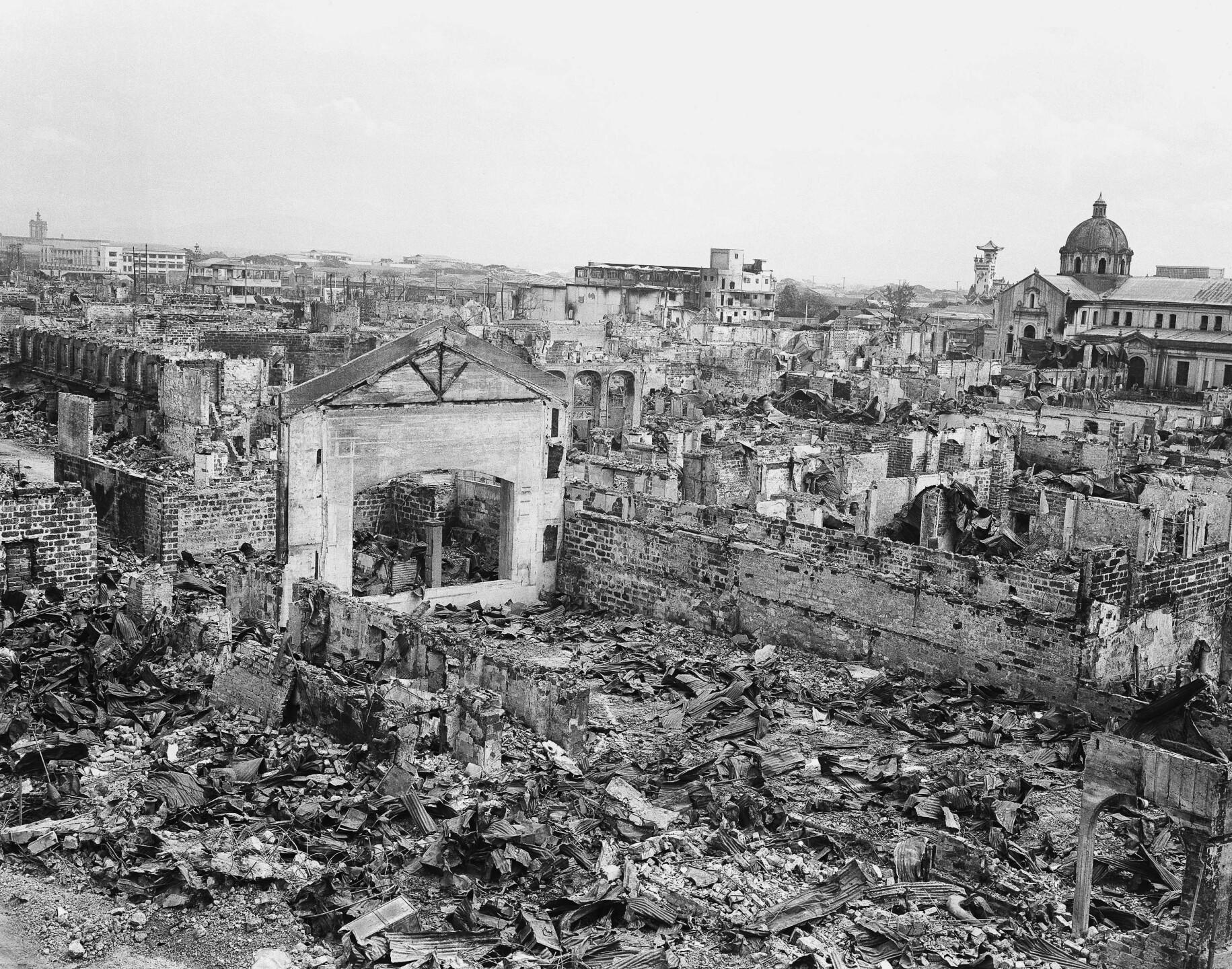WWII PHILIPPINES MANILA 1945
