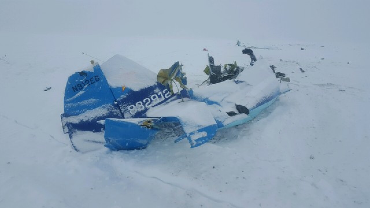 Plane crash kills two at Idaho border