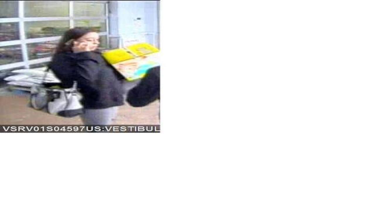 Police seek to identify larceny suspect