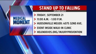 Medical Moment – Fall Prevention