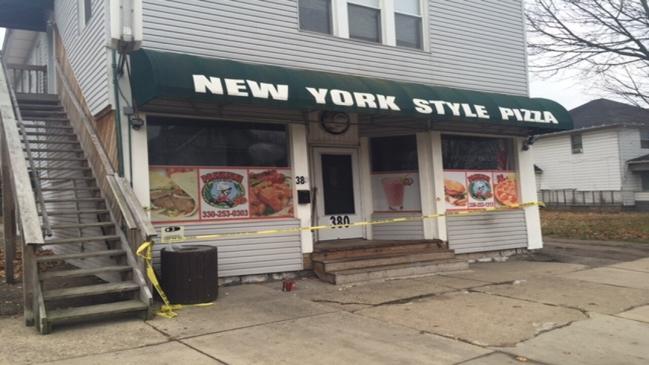 21-year-old killed at Akron pizza shop ID'd